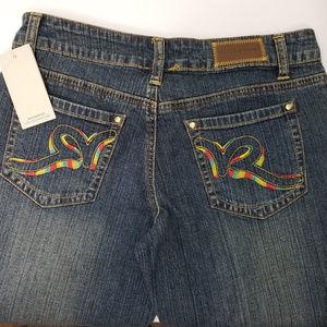 Rocawear Blue Jeans Boot Cut Denim Pants  Sz3